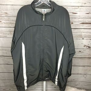 Reebok Mens Zip Front Lightweight Jacket Size 2XL